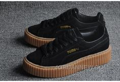 http://www.jordannew.com/puma-x-rihanna-suede-creeper-black-gum-authentic.html PUMA X RIHANNA SUEDE CREEPER BLACK/GUM AUTHENTIC Only $80.00 , Free Shipping!