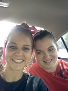 Me and my other sissy, josie.