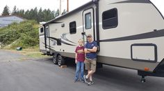 BRIAN AND KELLY's new 2017 Highland Ridge Ultra Lite 3110BH! Congratulations and best wishes from Clear Creek RV Center and Bob Chandler.
