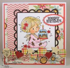 Copic Coloring Card Kit - Birthday Baby Girl $25
