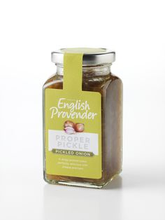 Pickled Onion Pickle www.englishprovender.com