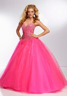 Shop classic ball gowns and ball gown prom dresses at PromGirl. Ballroom gowns, long formal dresses, designer prom ball gowns, plus-sized ball gowns, and ball gown dresses. Neon Prom Dresses, Mori Lee Prom Dresses, Ball Gown Dresses, Cute Dresses, Vintage Dresses, Formal Dresses, Xv Dresses, Dresses 2014, Pink Dresses
