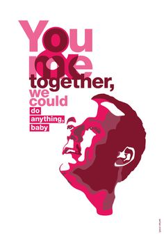 """You & Me.... by DMB.. love them of course...... but love the message """"together we could do anything"""""""