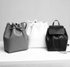 Mansur Gavriel bucket bags #style #fashion #accessories