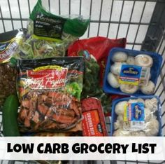 Low carb grocery list  | TravelingLowCarb.com - Low Carb Diet Tips for Busy People