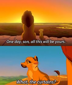 Monty Python and the Holy Grail + Lion King = me laughing so hard I just started crying. OMG.