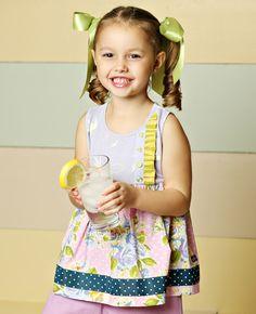 Matilda Jane Clothing ~ Good Hart ~  LILAC LUSH SARA TOP #matildajaneclothing #MJCdreamcloset