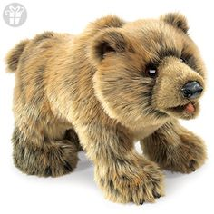 Folkmanis Grizzly Bear Hand Puppet (*Amazon Partner-Link)