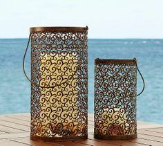 Scroll Lantern | Pottery Barn