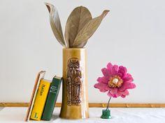 Vintage Tiki Mug, Ceramic Highball, Kuo Wah Glass, Sil Sen Gung Barware, Drinkware by microCosmico on Etsy https://www.etsy.com/listing/246564676/vintage-tiki-mug-ceramic-highball-kuo