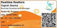 Realtime Realtors - Gurgaon Property Broker