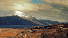 Slioch & Loch Maree. Scotland.