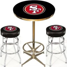Use this Exclusive coupon code: PINFIVE to receive an additional 5% off the San Francisco 49ers Pub Table Set at SportsFansPlus.com