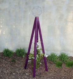 Modern garden trellis from Terra Trellis