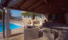 Istrien Pur, Ferienhaus Objekt VSM Dubrovnik, Hotels, Pergola, Outdoor Structures, Patio, Vacation, Places, Outdoor Decor, Holiday