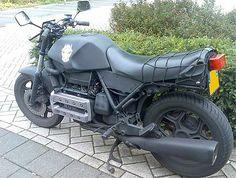 BMW K100 › Bmw K100 Black Custom
