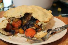 Vegetarian Savory Carrot Pie