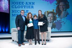 For the first time ever the ISPA Foundation awarded two recipients with the Mary Tabacchi Scholarship. Congrats again to Josee-Ann Cloutier and Nicole Meneveau. #ispadoyou #ISPA2014