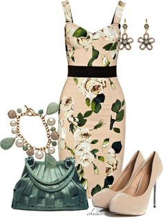 """""""Spring Floral"""" by christa72 ❤ liked on Polyvore"""