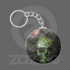 Handy this, artwork on your keyring and you get to customise too loads of artwork to choose from - from Schattenwelt on Zazzle