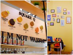 This cheerful, family-run cafe promises a unique proposition - Taiwanese-inspired waffle-shaped desserts made with milk & glutinous rice flour.