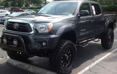 2012 Toyota Tacoma Lifted-totally should do this to my dads truck! XP