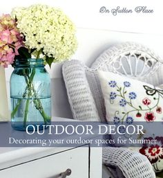 On Sutton Place Porch Decor Ideas - How To Make the Most of Your Outdoor Space http://www.onsuttonplace.com/2013/05/porch-decor-ideas-how-to-make-the-most-of-your-outdoor-space/ via bHome https://bhome.us