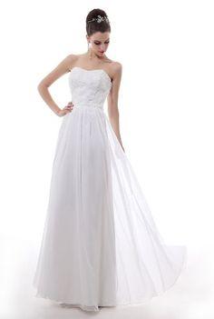 Dlass Strapless Chiffon Long Prom Dress White (US16, White) Dlass,http://www.amazon.com/dp/B00G7HJEA2/ref=cm_sw_r_pi_dp_5-HHsb0GJVC83QWE
