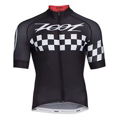 Zoot Sports Mens Cycle Cali Jersey Medium Black Checker * See this great product.Note:It is affiliate link to Amazon.