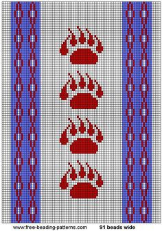 Image result for native american beading designs patterns