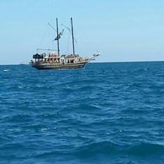 Denizin ortasında ...