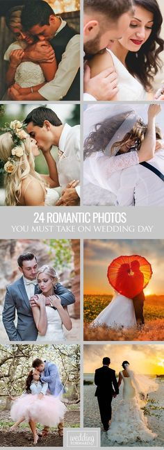 24 Must-Take Romantic Photos On Your Wedding Day ❤ This is editor's pick for your inspiration of the best romantic photos over Internet. See more: http://www.weddingforward.com/romantic-photos-wedding-day/ #weddings #photography