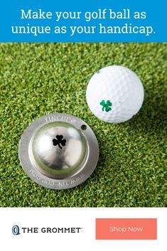 Stainless Steel Golf Ball Marker by Tin Cup Great Gifts For Dad, Gifts For Him, Diy Hydro Dipping, Golf Gadgets, Golf Putters, Gadget Gifts, Easy Storage, Leather Pouch, Golf Ball