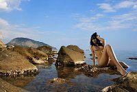 #Фото: Красотка на диком пляже в Гурзуфе