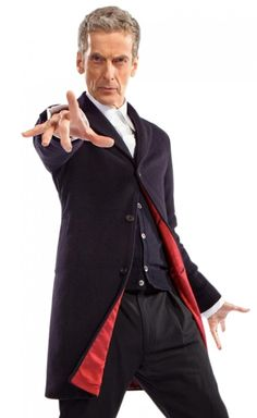For The Lovers of Doctor Who Show, the Blue Coat of Peter Capaldi