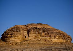 Mada'in Saleh - Modern Saudi Arabia - built between 100 BC - 100 AD  Built by the Nabataean Kingdom prior to Roman annexation, these series of tombs were abandoned by the time Islam became predominant in the region.