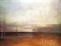 Rocky Bay With Figures by Joseph Mallord William Turner