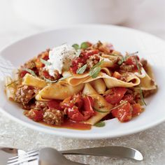 Pappardelle with Lamb Ragu   Food & Wine