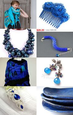 AZURE GIFT by SHINE JewelleryWithATouchOfMagic on Etsy--Pinned with TreasuryPin.com