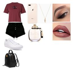"""Untitled #535"" by thahera00 on Polyvore featuring Calvin Klein, Nobody Denim, Converse, Gucci and Coach"