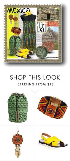 """MEXICAN BEAUTY"" by caramella-minsk ❤ liked on Polyvore featuring ASOS, Topshop, Lucky Brand, Marni and modern"