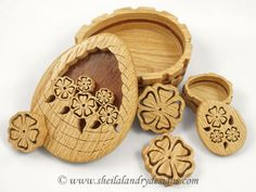 SLD499 - Layered Spring Basket Trinket Box