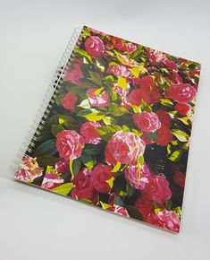 Wild Roses Notebook or Journal, Plain acid free sketch paper, cover reprinted from original photo by Jen Curtis,Crescent Beach Westcoast BC Natural Wedding Decor, Sketch Paper, Paper Cover, Art Studios, Special Gifts, Wedding Decorations, Notebook, Roses, Scrapbook