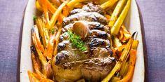 Rôti de porc au four