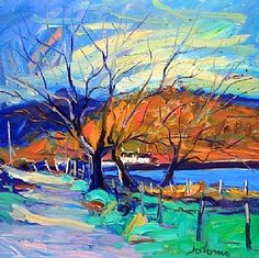 Autumn Light Crinan Ferry by Jolomo from House of Bruar