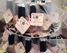 Bridal Shower Nail Polish Favors by RosiesDesignShop on Etsy