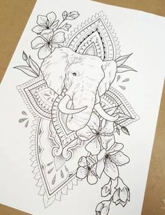 Best tattoo elephant buddha life ideas tattoo buddha face over dreamcatcher round pattern esoteric vintage vector illustration indian buddhism spiritual art hippie tattoo spirituality thai god yoga zen coloring book pages for adults Elephant Tattoos, Elephant Drawing, Body Art Tattoos, Buddha Tattoos, Mandala Tattoo, Tattoos, Future Tattoos, Tattoo Drawings, Flower Tattoos