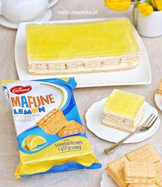 Ciasto Lemon Bez Pieczenia - PRZEPIS - Mała Cukierenka Bread, Cheese, Food, Brot, Essen, Baking, Meals, Breads, Buns
