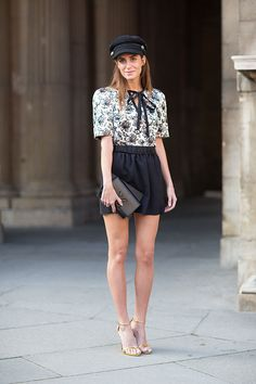 Street Style: Paris Fashion Week Spring 2014 - Gala Gonzalez