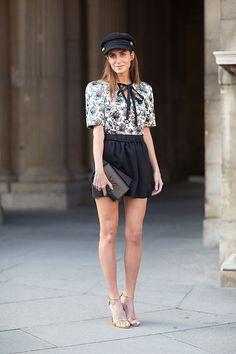 Street Style: Paris Fashion Week Spring 2014 - Gala Gonzalez